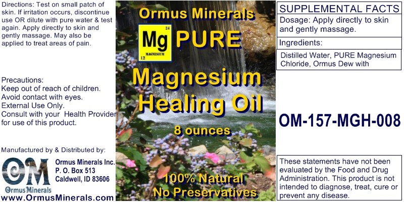 Healing Oil with Magnesium